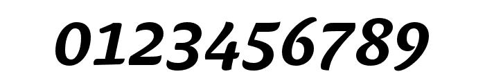 Ciabatta Medium Italic Font OTHER CHARS