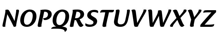 Ciabatta Medium Italic Font UPPERCASE