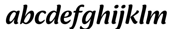 Ciabatta Medium Italic Font LOWERCASE