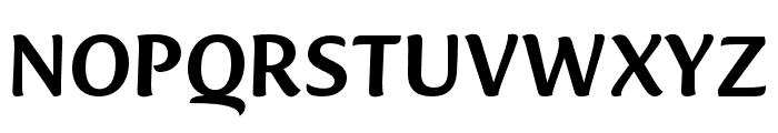 Ciabatta Medium Font UPPERCASE