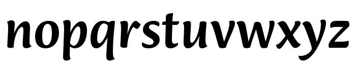 Ciabatta Medium Font LOWERCASE