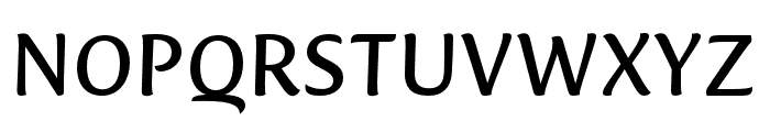 Ciabatta Regular Font UPPERCASE