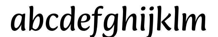 Ciabatta Regular Font LOWERCASE
