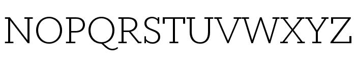 Circe Slab A Extra Light Font UPPERCASE