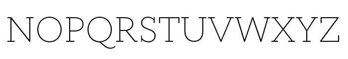 Circe Slab A Narrow Light Font UPPERCASE
