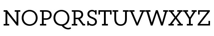 Circe Slab A Regular Font UPPERCASE