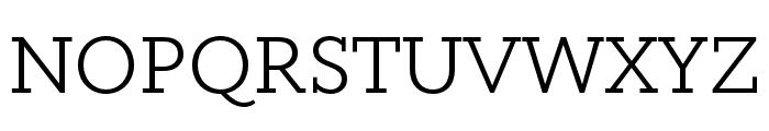 Circe Slab B Narrow Medium Font UPPERCASE
