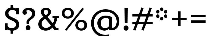 Circe Slab C Bold Font OTHER CHARS