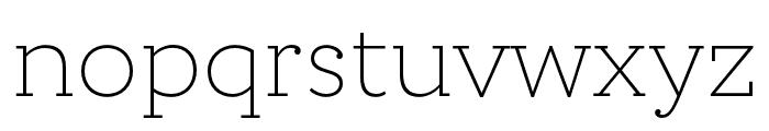 Circe Slab C Narrow Light Font LOWERCASE