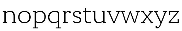 Circe Slab C Narrow Font LOWERCASE