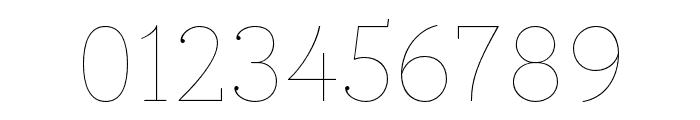 Circe Slab C Thin Font OTHER CHARS