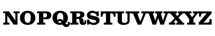 Clarendon Text Pro Bold Font UPPERCASE