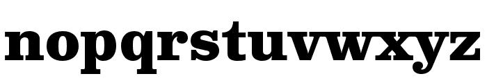 Clarendon Text Pro Bold Font LOWERCASE