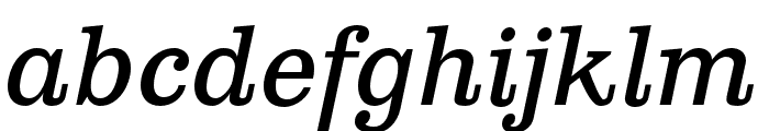 Clarendon Text Pro Italic Font LOWERCASE