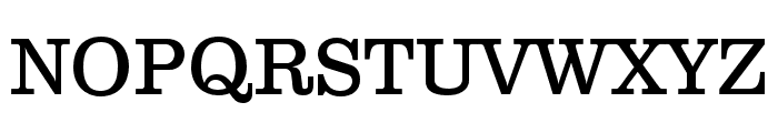 Clarendon Text Pro Regular Font UPPERCASE
