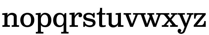 Clarendon Text Pro Regular Font LOWERCASE