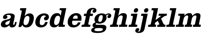 Clarendon URW Bold Font LOWERCASE