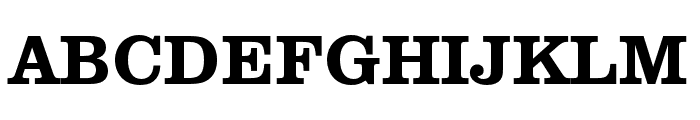 Clarendon URW Extra Narrow Medium Font UPPERCASE