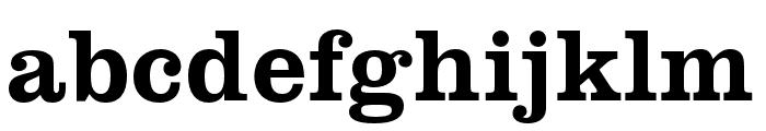 Clarendon URW Extra Wide Medium Font LOWERCASE