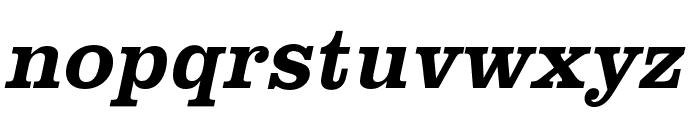 Clarendon URW Narrow Bold Font LOWERCASE