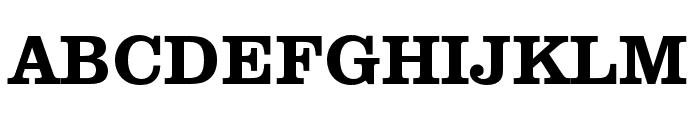 Clarendon URW Wide Medium Font UPPERCASE