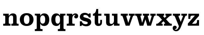 Clarendon URW Wide Medium Font LOWERCASE
