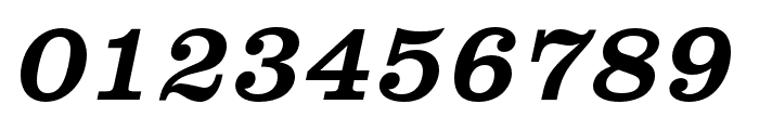 Clarendon URW Wide Regular Oblique Font OTHER CHARS