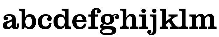 Clarendon URW Wide Regular Font LOWERCASE