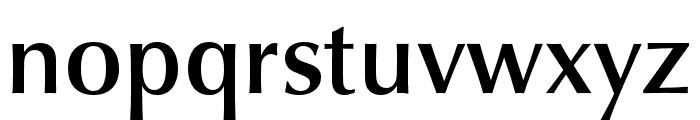 Classico URW Medium Font LOWERCASE
