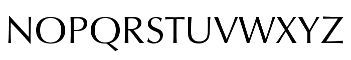 Classico URW Regular Font UPPERCASE
