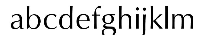 Classico URW Regular Font LOWERCASE