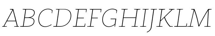 Clavo SemiBold Italic Font UPPERCASE