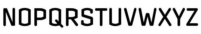 Clicker Compressed Medium Font UPPERCASE
