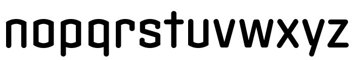 Clicker Compressed Medium Font LOWERCASE