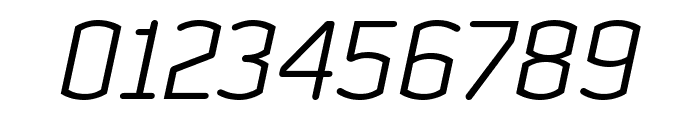 Clicker Condensed Light Italic Font OTHER CHARS