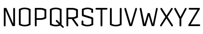Clicker Condensed Light Font UPPERCASE