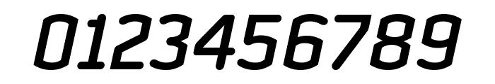 Clicker Condensed Semi Bold Italic Font OTHER CHARS