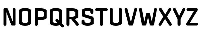 Clicker Condensed Semi Bold Font UPPERCASE
