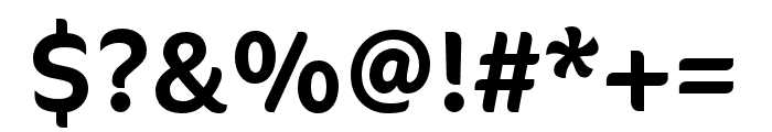 CoconPro Excon Font OTHER CHARS