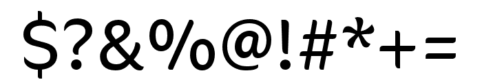 CoconPro Light Font OTHER CHARS