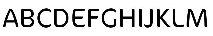 CoconPro Light Font UPPERCASE