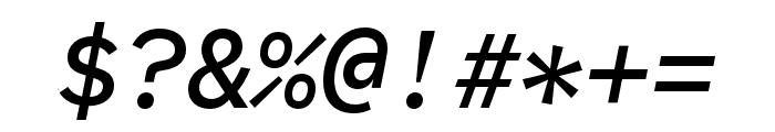 Code Saver Medium Italic Font OTHER CHARS