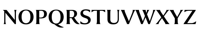 Collier Compressed Regular Font UPPERCASE