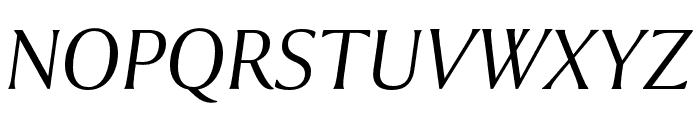 Collier Extended Light Italic Font UPPERCASE