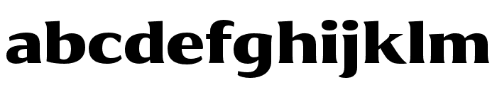Collier Extended Ultra Font LOWERCASE