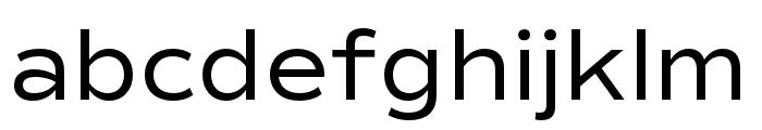 Commuters Sans Regular Font LOWERCASE
