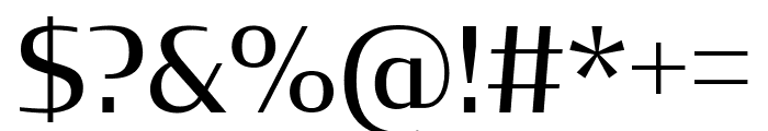 CondorCond Regular Font OTHER CHARS
