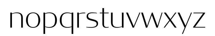 CondorExtd ExtraLight Font LOWERCASE