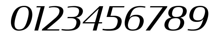 CondorExtd Italic Font OTHER CHARS