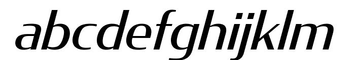 CondorExtd Italic Font LOWERCASE
